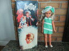 Vintage 1960's Sebino Bettina Bella Doll with Box | eBay sold for $275 on 05-17-15