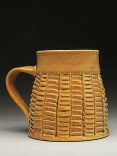 Dyann Myers Ceramics, Carved Porcelain at MudFire Gallery