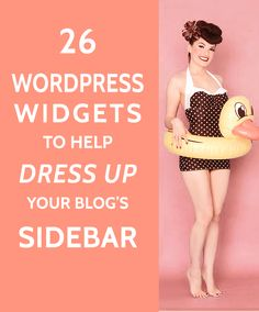 26 Widgets to Dress up your WordPress Sidebar - A Prettier Web