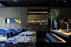 iluminación de hoteles. Iluminación de la zona de bar. Hotel Alma: un espacio que aúna el clasicismo del Eixample y la modernidad de Barcelona. | diariodesign.com