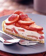 Strawberry Yogurt Cream Pie