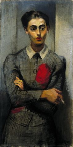 Isaac Soyer, Rebecca 1940 oil on canvas