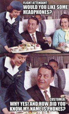 flight attendant head - Dump A Day Aviation Quotes, Aviation Humor, Airline Humor, Funny Images, Funny Pictures, Flight Attendant Humor, Pilot Humor, Vacation Meme, Nasty People