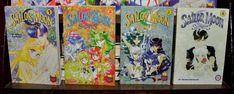 Sailor Moon SuperS Ss English Manga lot 1 2 3 4 set graphic novel Pocket Mixx