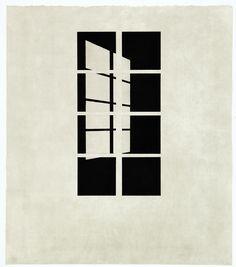 Markus Raetz (Swiss, born 1941)Day or Night (Tag oder Nacht), 1998  Graphic collection of the ETH, Zürich, Swithzerland