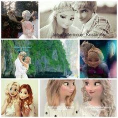 All Jelsa moments, Elsanna included but it doesn't last forever