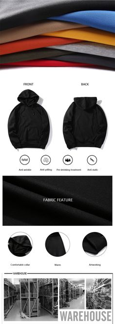 Xin yeah Men Coat Slim Fit Fashion Men Hooded Jacket Solid Color Long Sleeve