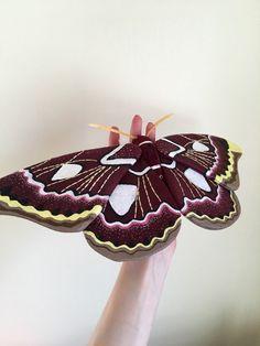 Saturniidae Moth Soft Sculpture