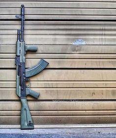 Military Gear, Military Weapons, Weapons Guns, Guns And Ammo, Ak 74, Hanuman Wallpaper, Battle Rifle, Firearms, Shotguns