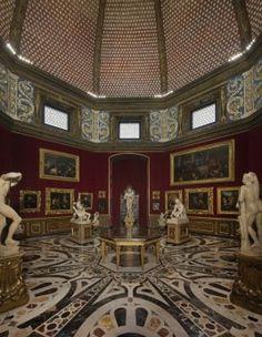 Tribune in Uffizi Gallery