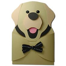 Labrador Retriever Hug Gift Card Holder