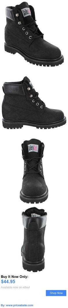 Women Boots: Safety Girl Steel Toe Waterproof Womens Work Boots - Black BUY IT NOW ONLY: $44.95 #priceabateWomenBoots OR #priceabate
