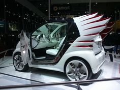 smart car with wings, because tail-fins are so popular.