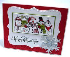 "Stampin Up Handmade Christmas Card Kit ""Holiday Line Up ""   eBay"