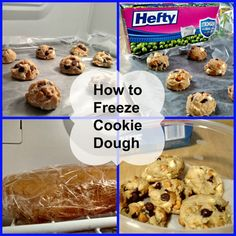 Make your cookie dough ahead of time to make your holidays a breeze! Learn how to freeze cookie dough with these awesome tips from Hefty! Frozen Cookie Dough, Frozen Cookies, No Bake Cookies, Sugar Cookies, Cookie Frosting, Cookie Pie, Icing, Cookie Exchange Party, Pie Cake