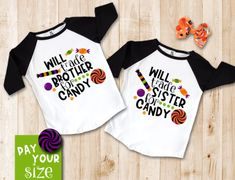 Hilarious Halloween shirts for girls and boys, on SALE for their size! Shirts For Girls, Kids Shirts, Halloween Shirts For Toddlers, Boy Onsies, Onesies, Well Dressed Kids, Cute Halloween, Halloween 2019, Halloween Crafts