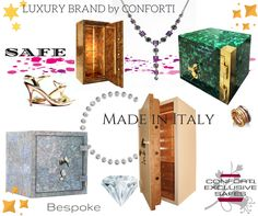 Charming, fashionable and... EXCLUSIVE #luxury #luxurysafes #safes #madeinitaly #bespoke #design #deluxe
