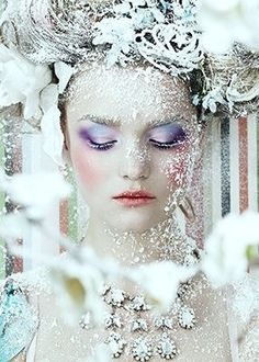 frosted look