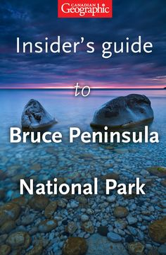 Canadian Geographic's insider's guide to bouldering in Bruce Peninsula National Park. Backpacking Trails, Camping Guide, Places Around The World, Oh The Places You'll Go, 7 Continents, Ontario, Travel Magazines, Park Service, Canada Travel