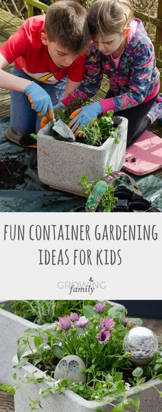 Looking to get the kids involved in the garden this spring? We've visited Dobbies Garden Centres and created three easy container gardening projects to get you inspired. Add some spring blooms to the garden and have fun at the same time!