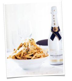 This Is Glamorous   Table for Two   Recipe : White Truffle French Fries
