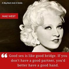 A #famousquotes by abigbuttandsmile #qotd Tell'em Mae! Double tap if you agree with Mae West! | #abigbuttandasmile #MaeWest #quotestoliveby #sexquotes #quotes #quotestagram #quotestags #quotesoftheday #quoteoftheday #quotesaboutsex #famousquotes #celebrityquotes http://ift.tt/1NY0W0o