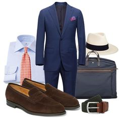 Fredagsinspiration - Sommarrea Sharp Dressed Man, Well Dressed Men, Stylish Men, Men Casual, Navy Blue Suit, Preppy Men, Elegant Man, Men Style Tips, Fine Men