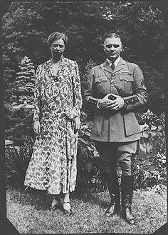 Photograph of Eleanor Roosevelt With Earl Miller 1930