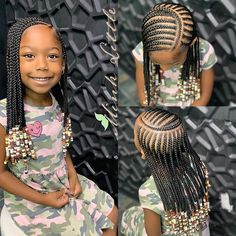 Kid hairstyles 543176405060846110 - Braids for Kids- 50 Kids Braids with Beads Hairstyles Source by Little Black Girls Braids, Little Girl Braid Styles, Kid Braid Styles, Black Girl Braids, Braids For Black Hair, Little Girl Cornrows, Hair Styles, Toddler Braids, Black Girl Braided Hairstyles