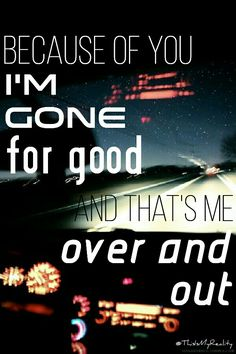 Over And Out 5SOS made by @ThisIsMyReality