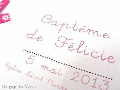 Baptême déco buffet livret de messe sachets dragées Au pays des Cactus 5