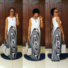 Online Hub For Fashion Beauty And Health: Flawless Gown Dress For Classy Divas African Print Dresses, African Print Fashion, Africa Fashion, African Fashion Dresses, African Dress, Fashion Outfits, African Attire, African Wear, African Women