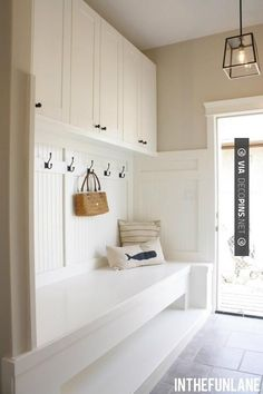 Brilliant! - Mudroom | CHECK OUT MORE MUDROOM FURNITURE IDEAS AT DECOPINS.COM