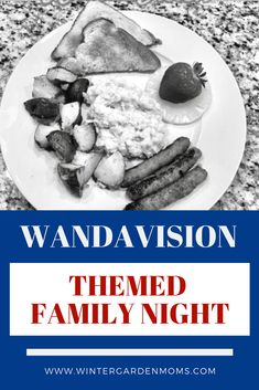 We had a great time with our WandaVision themed family night which included dinner, a viewing snack, and craft! #wandavision #marvel #waltdisneyworld #disneyparksblog #disneyfamily #disneyathome #familyfun Disney Games, Disney Food, Disney Recipes, Disney Tips, Old Disney Tv Shows, Orlando Events, Disney Easter Eggs, Classic Disney Movies, Disney Parties