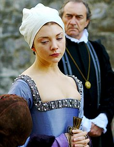 Natalie Dormer as a poignantly dignified Anne on the scaffold. [TH]