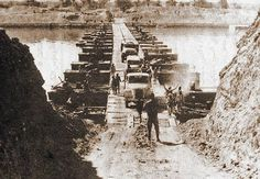 Yom Kippur War/October War Part of the Cold War and ArabIsraeli conflict. Egyptian military trucks cross a bridge laid over the Suez Canal on October 7 1973.