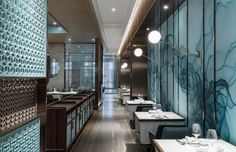 View the full picture gallery of Huayue Court - Shanghai Art Restaurant, Chinese Restaurant, Restaurant Interiors, Id Design, Design Blog, Store Design, Khao Lak, Retail Design, Shanghai