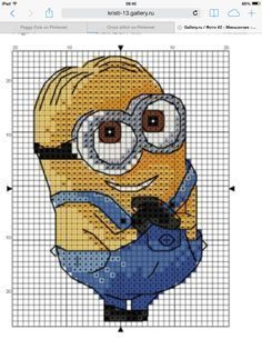 cross stitch pattern minions - Google'da Ara: