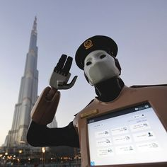 Visitors to Dubais busy shopping arcades may be surprised to find themselves under the protection of a humanoid police robot. Though it has no mouth the expressionless bot communicates in Arabic and English and helps tourists navigate the city as well as connecting them directly with police services via a touchscreen.  Dubais answer to RoboCop dresses and salutes like a police officer but is actually from an existing family of robots known as REEM built and programmed by the Barcelona-based…