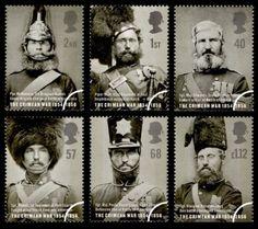 Uniformes ingleses en la época de la guerra de Crimea