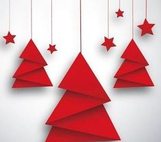 Origami Christmas Tree Decorations - The spinner made by jan halvarson. Posted by admin april 14 2020 posted in origami post navigation. Origami Christmas Origami Christmas Tree And Red S. Paper Christmas Ornaments, Unique Christmas Trees, Christmas Origami, Noel Christmas, Christmas Crafts For Kids, Xmas Crafts, Christmas Projects, Paper Christmas Decorations, Vector Christmas
