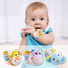 Baby Rattles Mobiles Sound Toys For Babies Elephant Bear Soft Cubes Animal Ken Doll Peluche Shaker Plush Dolls Stuffed 903796