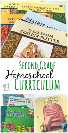 Read about my homeschool curriculum choices for second grade and get some new ideas for resources. Or share your choices as well! Included are…