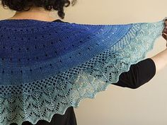 Mesh, lace and a soothing color make the Kindness KAL shawl a lovely project to keep or give to a loved one. Intuitive increase construction and understandable lace patterns make it less difficult than it may first appear! Finish before March 1, 2017 and Knitcircus will donate to a good cause!