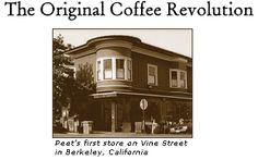 Peet's Coffee. The original - Vine Street, Berkeley.