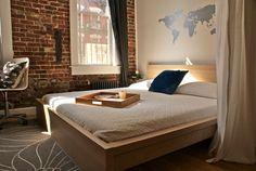 Lower East Side Project- Bedroom - modern - bedroom - new york - Beekman Lane_ W.A.L.L.!