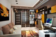 Темный шоколад: интерьер, квартира, дом, гостиная, современный, модернизм, 50 - 80 м2 #interiordesign #apartment #house #livingroom #lounge #drawingroom #parlor #salon #keepingroom #sittingroom #receptionroom #parlour #modern #50_80m2 arXip.com