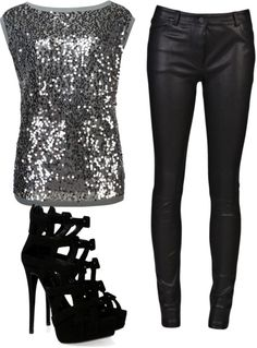 """Night Out on the Town"" by tdsidney on Polyvore"
