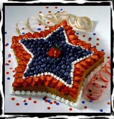 Recipe Box: July 4th Star Cake