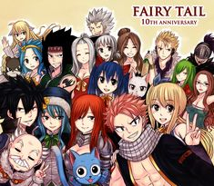 """[Fairy Tail 10th anniversary] """